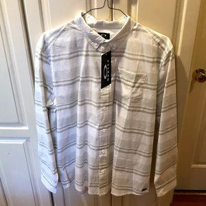 NWT Oakley Long Sleeve Button Down Shirt XL Men's